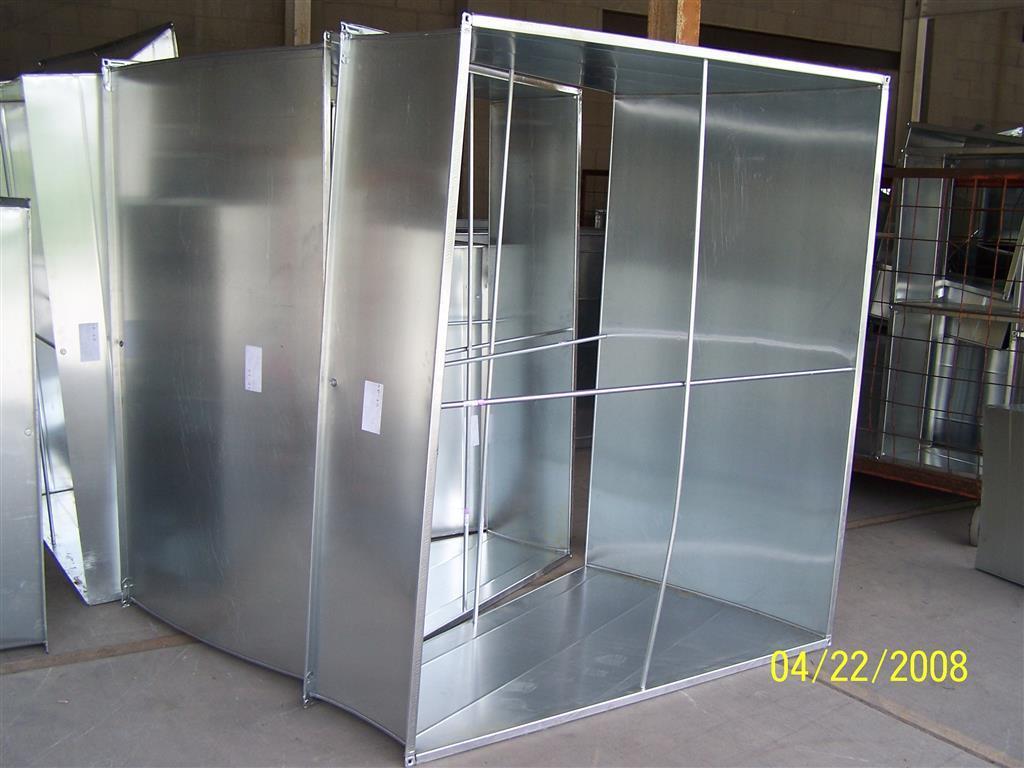 Photos rectangular duct